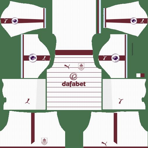 Burnley F.C. Away Kits DLS 2018