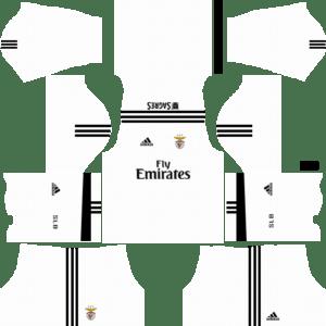 S.L. Benfica Goalkeeper Home Kits DLS 2018