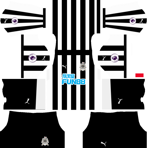 Newcastle United F.C. Home Kits DLS 2018