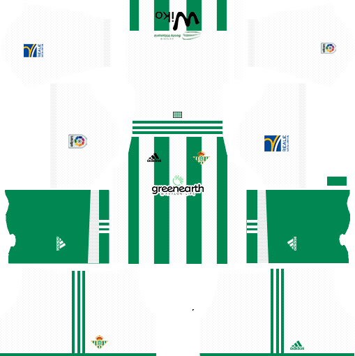 Real Betis Home Kit DLS 2018