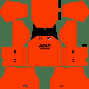 AZ Alkmaar Goalkeeper Away Kits DLS 2018