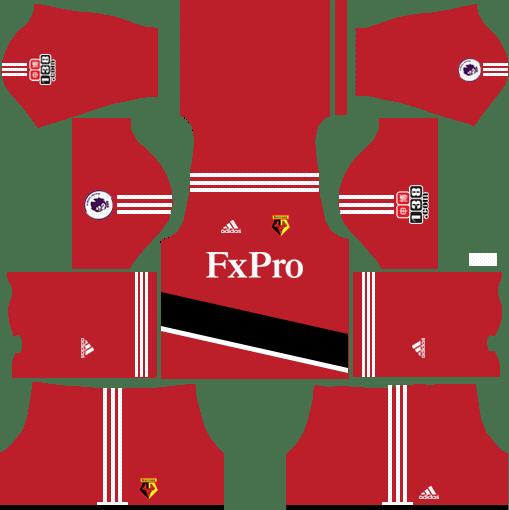 Watford F.C. Home Kits DLS 2018