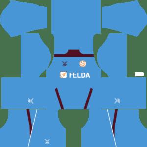 Felda United Kits Goalkeeper Home DLS 2018