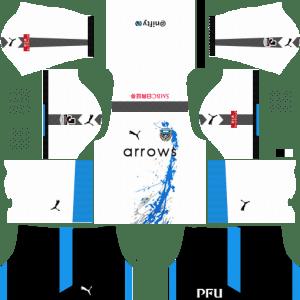 Kawasaki Frontale Away Kits DLS 2018