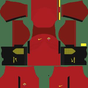AS Roma Home Kits DLS 2018