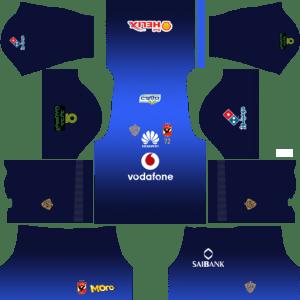 Al Ahly SC (Egypt) Goalkeeper Home Kits DLS 2018