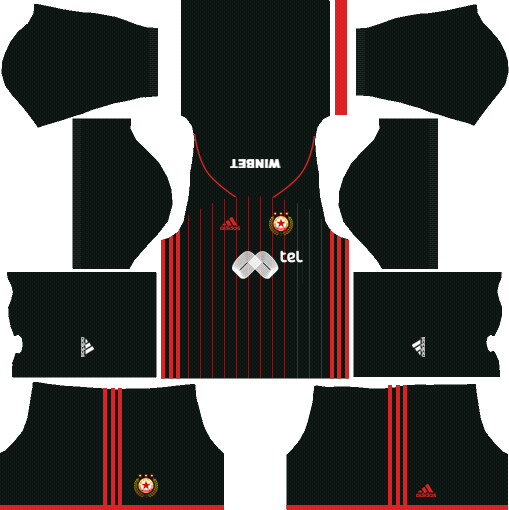 CSKA Sofia Third Kits DLS 2018