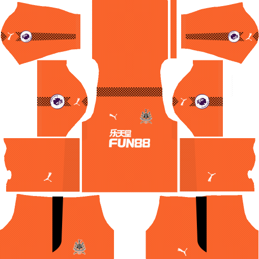 Newcastle United F.C. Goalkeeper Away Kits DLS 2018