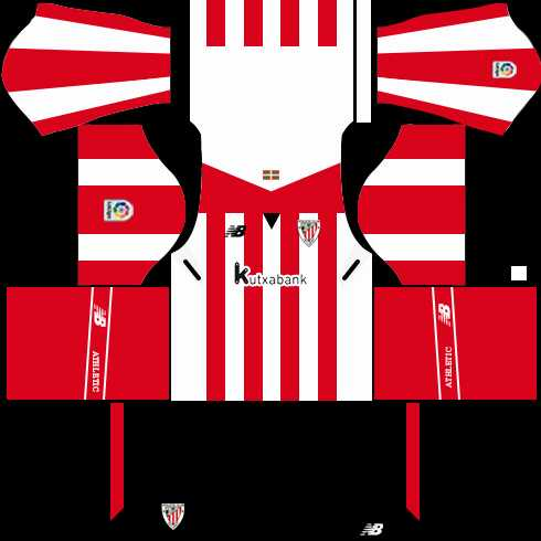 Athletic Bilbao Home Kits DLS 2018