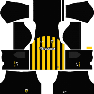 AEK F.C. Home Kits DLS 2018