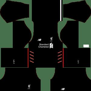 Liverpool Away Kits DLS 2018