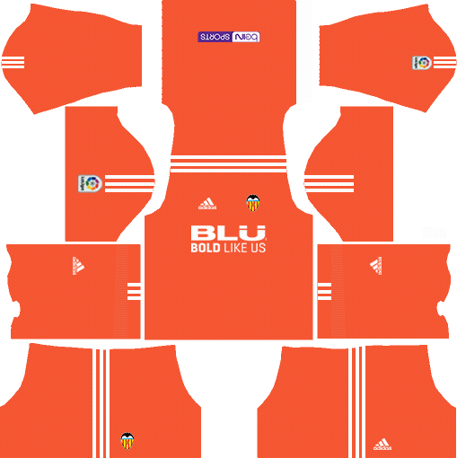 Valencia CF Goalkeeper Home Kits DLS 2018