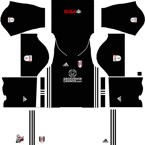 Fulham F.C. Away Kits DLS 2018