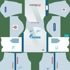 Zenit St Petersburg Away Kits DLS 2018