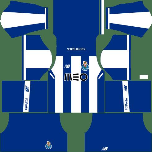 FC Porto Home Kits DLS 2018