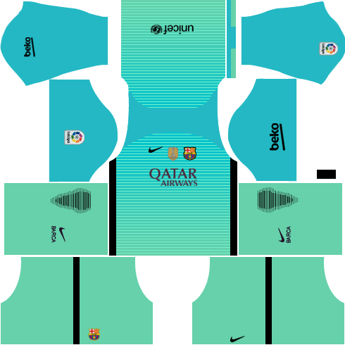 Barcelona Third Kit DLS 2018