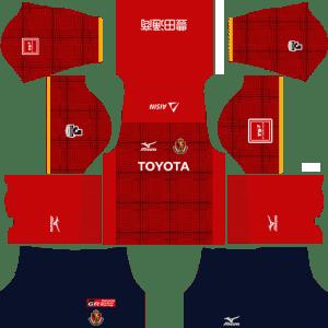 Nagoya Grampus Home Kits DLS 2018