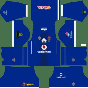 Al Ahly SC (Egypt)  Away Kits DLS 2018