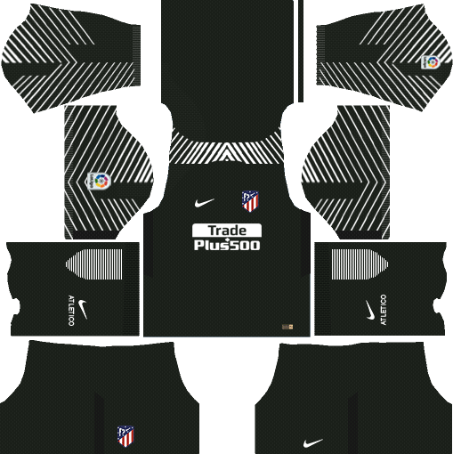 Atlético Madrid Goalkeeper Home Kits DLS 2018