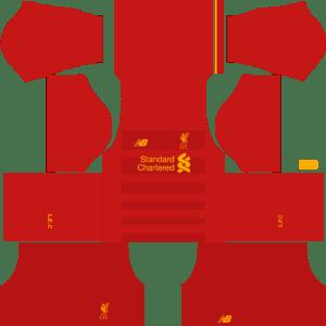 Liverpool Home Kits DLS 2018