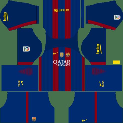 Barcelona Home Kit DLS 2018