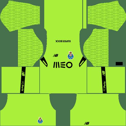 FC Porto Goalkeeper Third Kits DLS 2018
