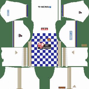 Vegalta Sendai Away Kits DLS 2018