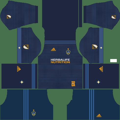 LA Galaxy Away Kits DLS 2018