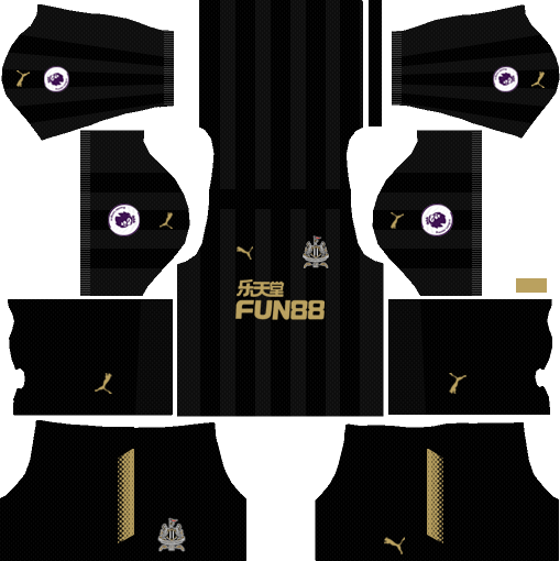 Newcastle United F.C. Third Kits DLS 2018