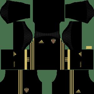 Russia Goalkeeper Kits DLS 2018