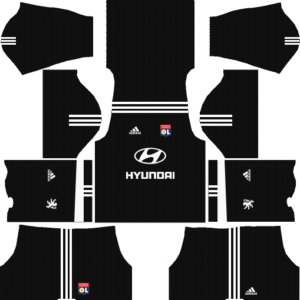 Olympique Lyonnais Goalkeeper Home Kits DLS 2018