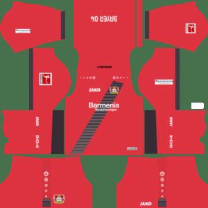 Bayer Leverkusen Away Kits DLS 2018