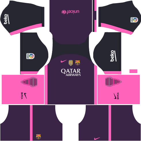 Barcelona Away Kit DLS 2018