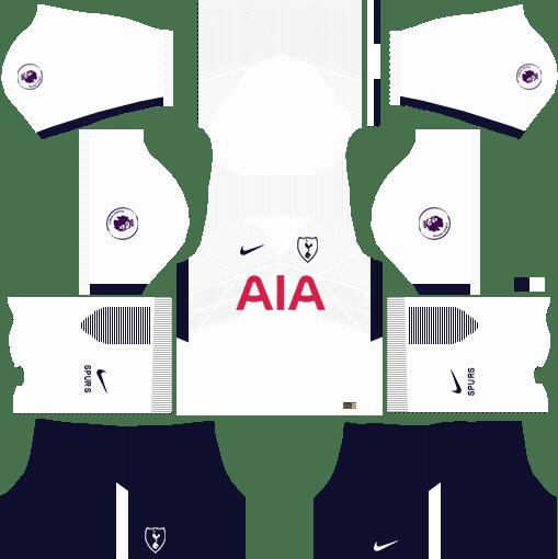 Tottenham Hotspur  Home Kits DLS 2018