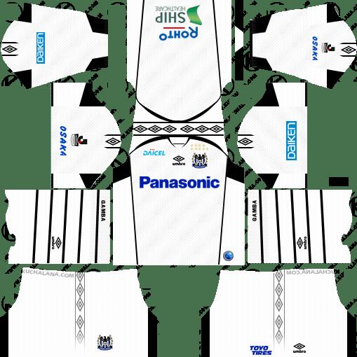 Gamba Osaka Away Kits 2018
