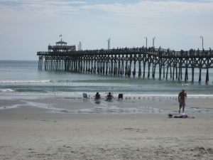 Cherry Grove pier in Cherry Grove - North Myrtle Beach