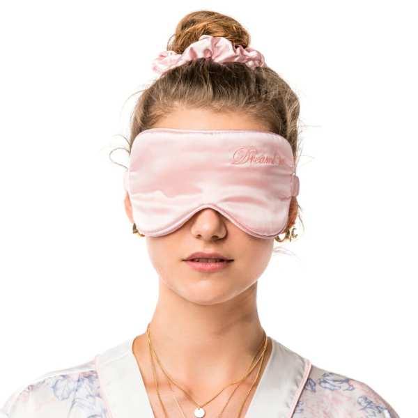 maska-na-spanie-morusovy-hodvab-ruzova-ceresnovy-kvet-high-ponytail-gumicka