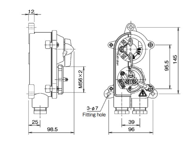SANSHIN S1RM-3P W.T 3 PIN SWITCHED SOCKET