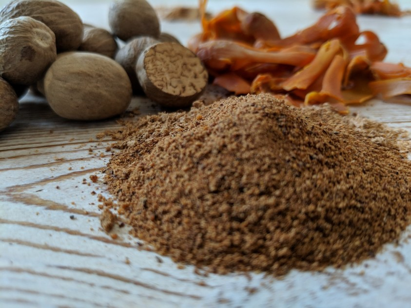 A Pile of Ground Nutmeg