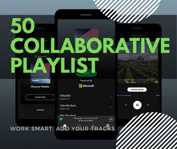 Collaborative Playlists