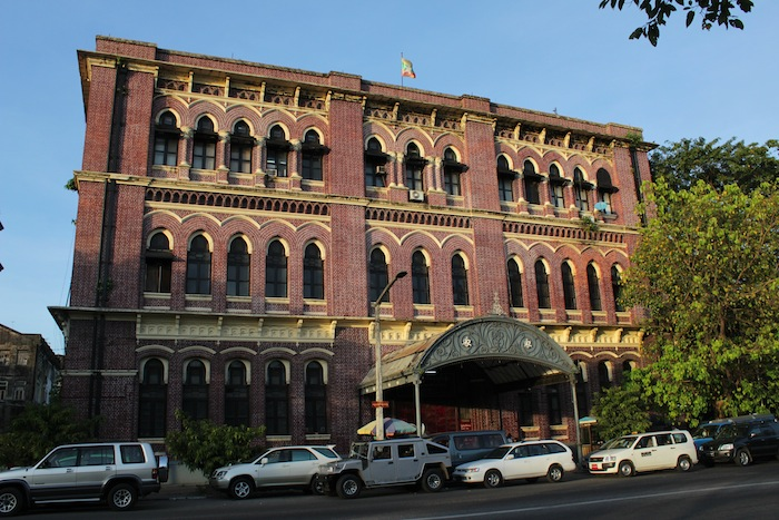 sofaer co building yangon uptown sofa bed with storage chaise a stroll through old rangoon   dream of city