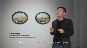 To demystify artefacts in the museum and make a strong point about breaking down barriers to access, I did a series of 8 videos, each featuring one artefact (4 from National Museum of Singapore and 4 from ACM). 5 have aired so far. This one features the China Export Paintings, particularly the views of Amoy (Xiamen) and Foochow, where my maternal and paternal grandfathers hailed from.