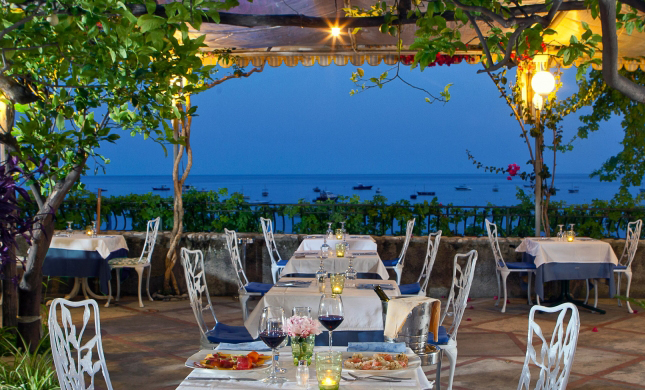 Best Seaside Restaurants on The Amalfi Coast August 2016  Dream of Italy