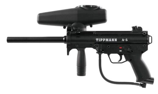 Tippmann A-5 Paintball Marker GunReview