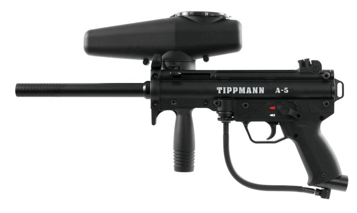 Tippmann A-5 .68 Caliber Paintball Marker Gun Review