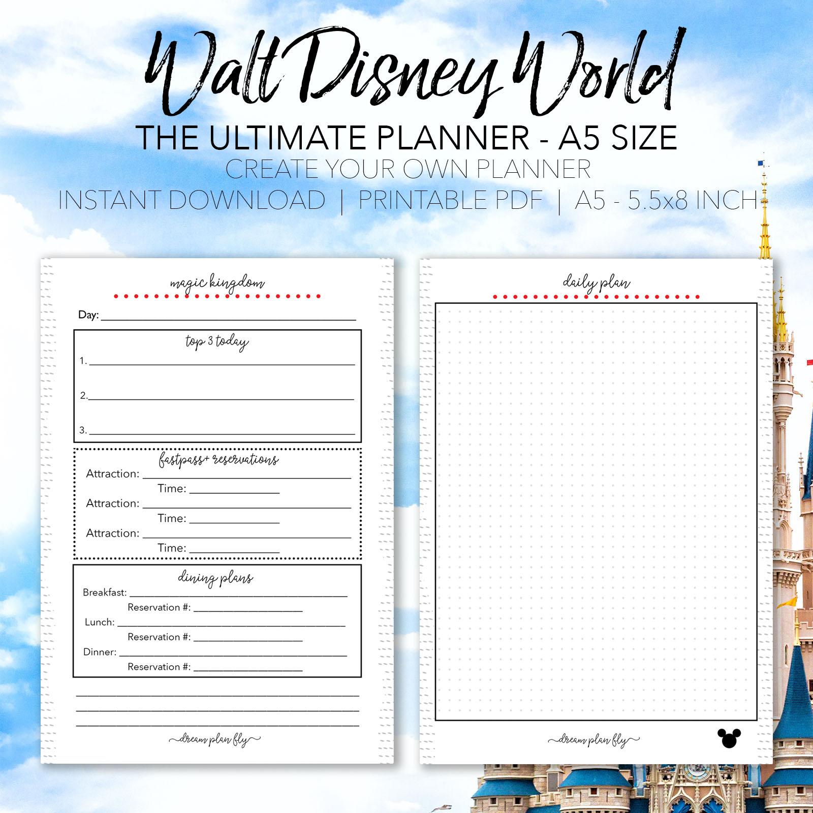 Ultimate Walt Disney World Vacation Planner