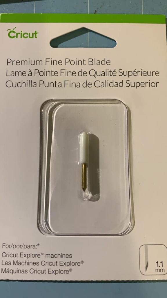 Cricut Fine Point Blade