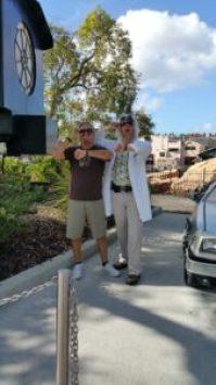 Doc Brown Universal Studios