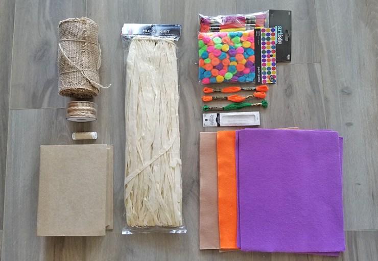 DIY Disney Tiki Room Handbag