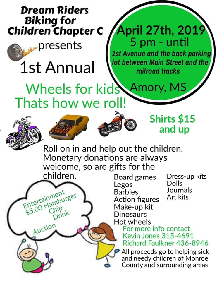 1st ANNUAL WHEELS FOR KIDS